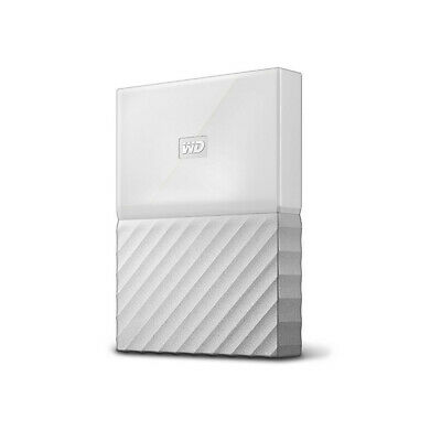 WD 1TB My Passport USB 3.0 Portable Storage External Hard Drive 2017 White PS