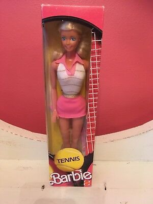 1986 Tennis barbie doll