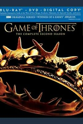 Game of Thrones: The Complete 2nd Season Blu-ray/DVD 7 Discs