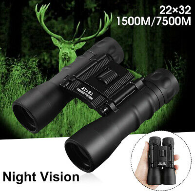 ARCHEER 22x32 Zoom Night Vision Outdoor Travel Binoculars Hunting Telescope +bag