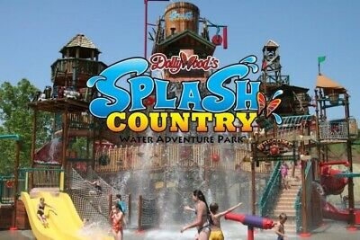 Dollywood Splash Country (2) Two Single Day Admis Tickets - Pigeon Forge, TN