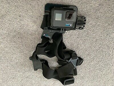 GoPro HERO 6 Black Waterproof 4K Action Camera - With Chesty Mount