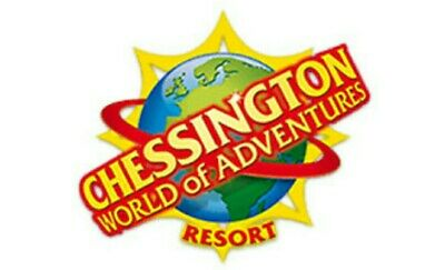 Chessington World Of Adventure  Tickets Friday September 20Th 2019 X 2