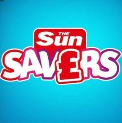Sun Savers Code SATURDAY 20/07/2019 20th July Sun Holidays £9.50