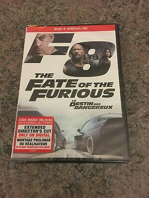 sealed DVD+DIGITIAL HD #61180968 of The Fate of the Furious E/F/S