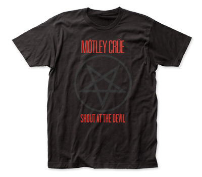 Motley Crue - Shout At The Devil - T-Shirt - Brand New & Licensed - Music Mc01