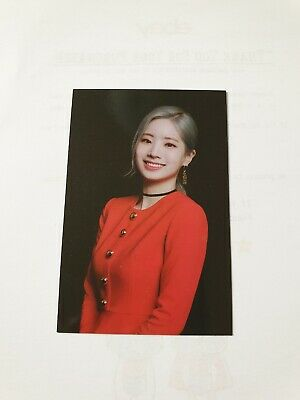Twice Lights Twicelights World Tour 2019 Official Trading Photo Card #7