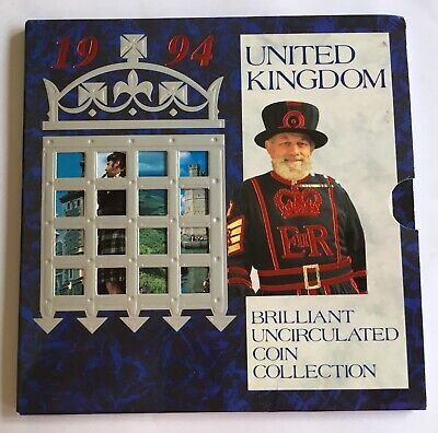 United Kingdom 1994 Uncirculated Coin Set