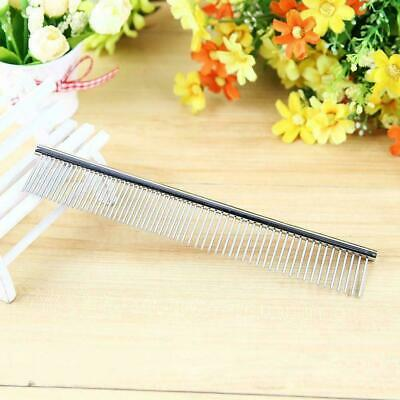 Stainless Steel Comb Hair Brush Shedding Flea For Cat Grooming Trimmer Pets P2K9