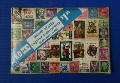 U.S. Regular & Christmas - Forty Different Stamps Lot