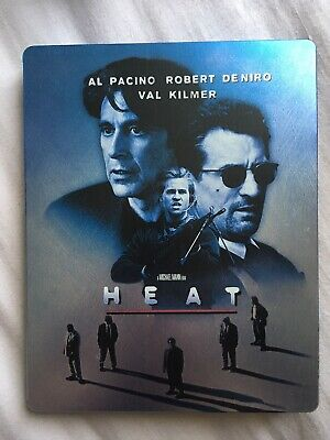 Heat US Import Steelbook Blu Ray