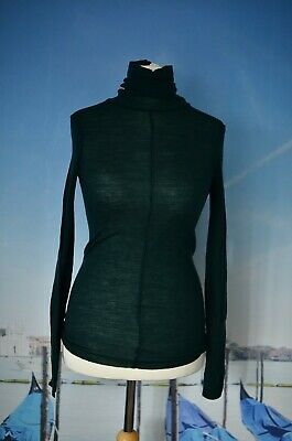COS roll neck sweater, 100% wool, thin and delicate size M UK 14 16