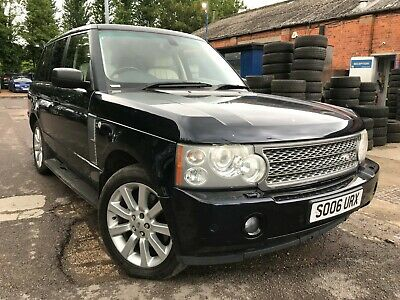06 Land Rover Range Rover 4.2 V8 Supercharged Vogue Se -Satnav, Leather, Sunroof