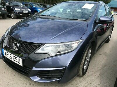 15 Honda Civic Tourer 1.6 I-Dtec 120 S Estate, Fabulous Looking Example 1 Owner