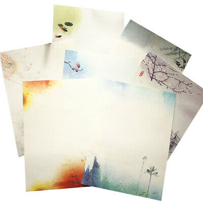 64pcs Chinese Style Retro Writing Paper Vintage Letter Paper Stationery Sets