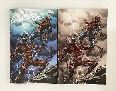 Absolute Carnage 1 Mico Suayan Variant Set Slabbed Heroes Exclusive