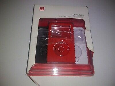3pack TuffWrap For Ipod With Video 60gb red, white, and black