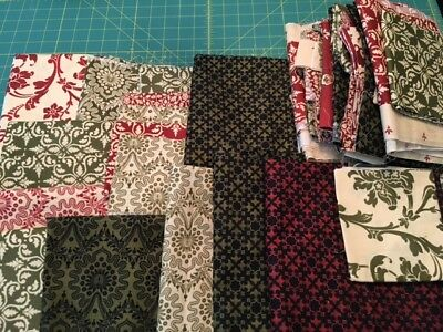 Big Lot Of Olde World Style By Maywood, Big Pieces, Fat Quarters, Scraps 5 Lbs