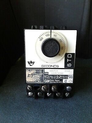 Eagle Signal BR16A6 Timer used nice