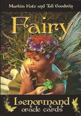 **NEW & SEALED**  FAIRY LENORMAND ORACLE Card Deck  ~Tarot oracle fortune ~
