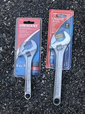 "6"" And 8"" Crescent Adjustable Wrenches"