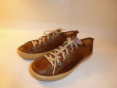 CAMPER CASUAL SNEAKERS Shoes Men's Brown Leather Oxford EU