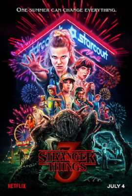 Stranger Things Season 3 (DVD, 2019) 2-3 days delivery