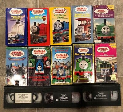 Lot of 13 Thomas The Tank Engine Train & Friends Childrens Movies VHS Video!