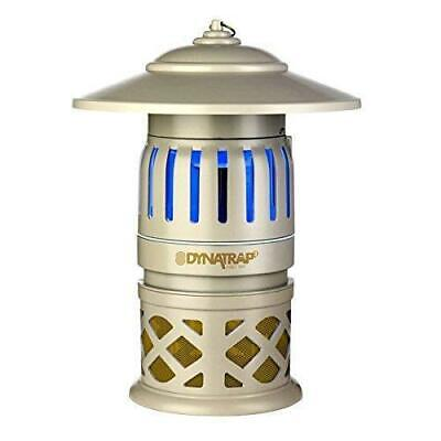 Dynatrap Insect Trap with 2 Replacement UV Bulbs 1/2 Acre Coverage - Refurbished