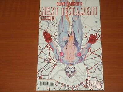 Boom Studios Comics:  Clive Barker's NEXT TESTAMENT #8 (of 12) Apr. 2014 Miller