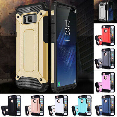 Hybrid Armor Shockproof Rugged Bumper Case For IPhone 7/8/X/8 Plus/7 Plus