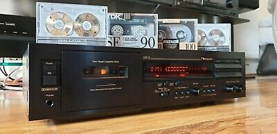 Nakamichi Dr-3 Two-Head Cassette Deck With Original Box And Manual *Mint*