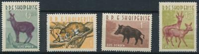 [336962] Albania 1962 Fauna good set of stamps VF MNH Value 40$
