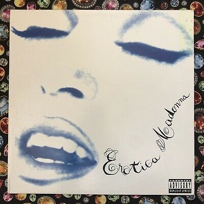 "MADONNA EROTICA US PROMO 12"" DOUBLE LP - Rare Collector Item"