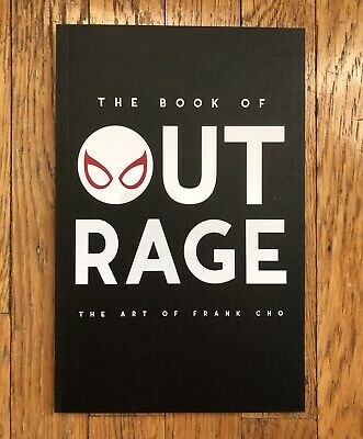 The Book of Outrage: The Art of Frank Cho 2019 sketch cover sketchook BUY IT NOW