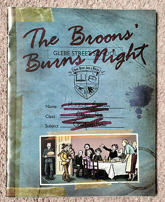 Collectable The Broons' Burns Night Sunday Post supplement