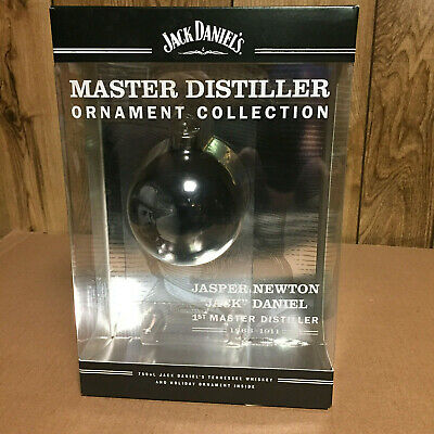 Jack Daniels Master Distiller Gift Set With Christmas Ornament & Box  From 2011
