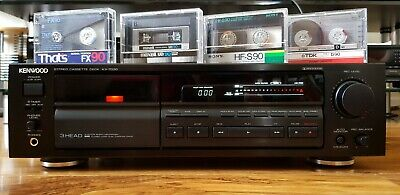 Kenwood Stereo Cassette Deck Kx-7030 Fully Working *Recently Serviced*