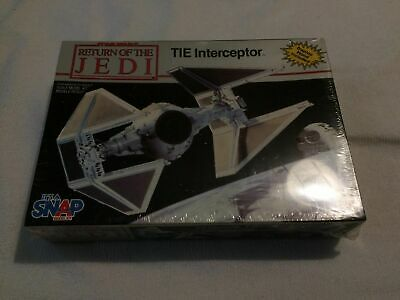MPC ROTJ Tie Interceptor Model Kit STAR WARS Return Of The Jedi - In Sealed Box