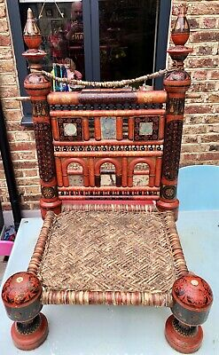 Indian Tribal Pidha Low Chair