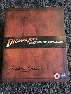 Indiana Jones The Complete Adventures Limited Edition Collectors Blu Ray OOP