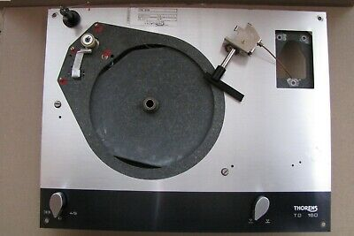 Thorens TD 160 Turntable Chassis Spring Mounts & Motor Board Lift & Speed Change
