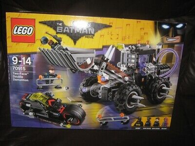 LEGO The Lego Batman Movie Two-Face Double Demolition 70915 NEW