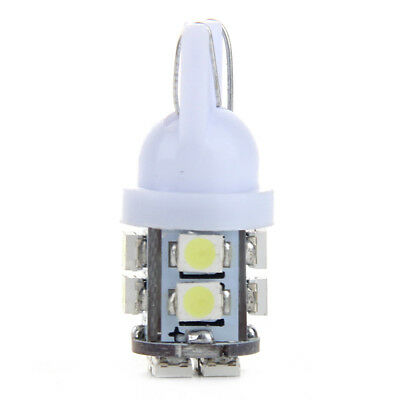 1x Car White T10 194 168 501 921 W5W 12 LED SMD Dashboard Wedge Light Bulb Lamps