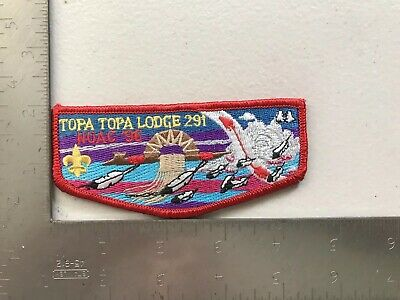 Boy Scouts Of America BSA 1996 Order Of The Arrow Topa Topa Lodge Flap Patch