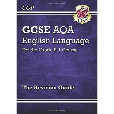 New 9-1 Grade GCSE English Language AQA Revision Guide -by CGP