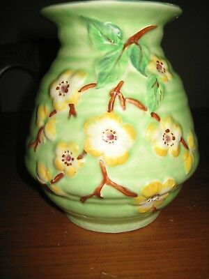 BEAUTIFUL VINTAGE ART DECO VASE ENGLISH MADE c 1930's