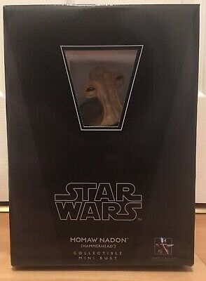 Star Wars Momaw Nadon Hammerhead Gentle Giant Collectible Mini Bust figure MISB