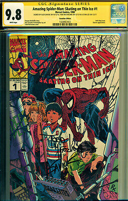 Amazing Spider-Man #1 Cgc 9.8 Ss Signed By Stan Lee & Todd Mcfarlane+-Variant!