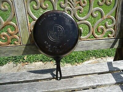Griswold No. 8 Cast Iron Skillet 704 G  For Restore